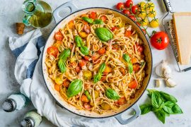 Bruschetta Chicken Pasta Recipe 8