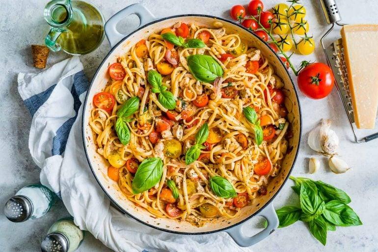 Bruschetta Chicken Pasta Recipe 8