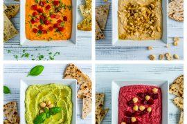 4 Retete de Hummus