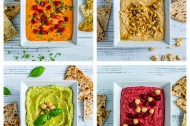 4 Easy Hummus Recipes - How to Make Hummus at Home 7