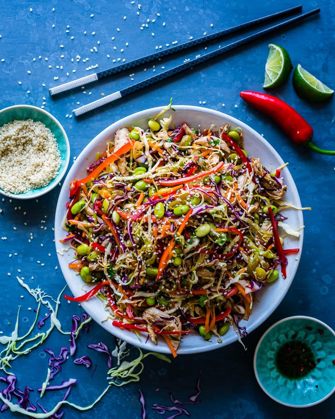 Salata Thailandeza de Pui si Legume 9