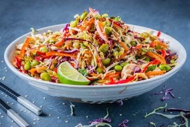 Salata Thailandeza de Pui si Legume 17