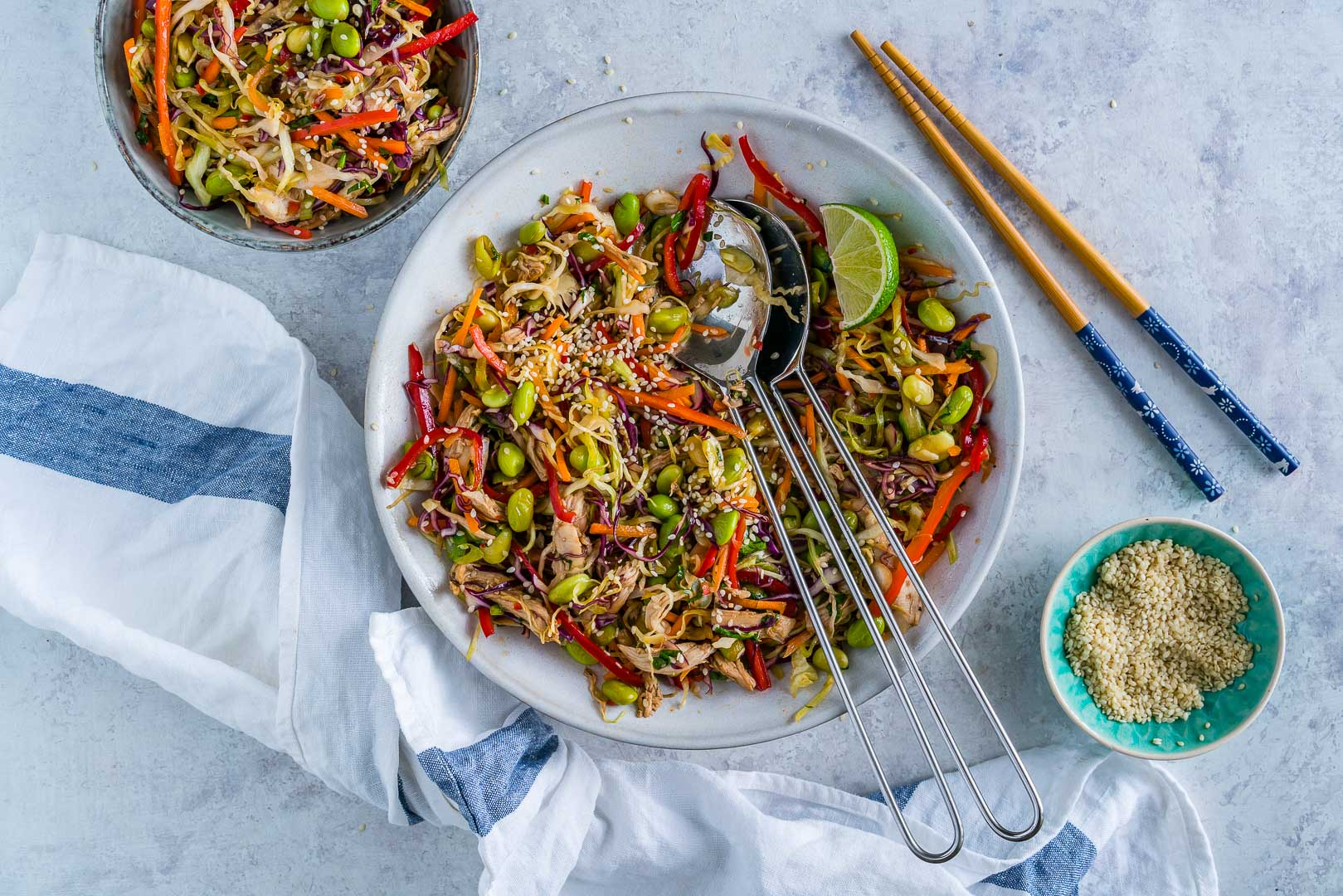 Salata Thailandeza de Pui si Legume 19