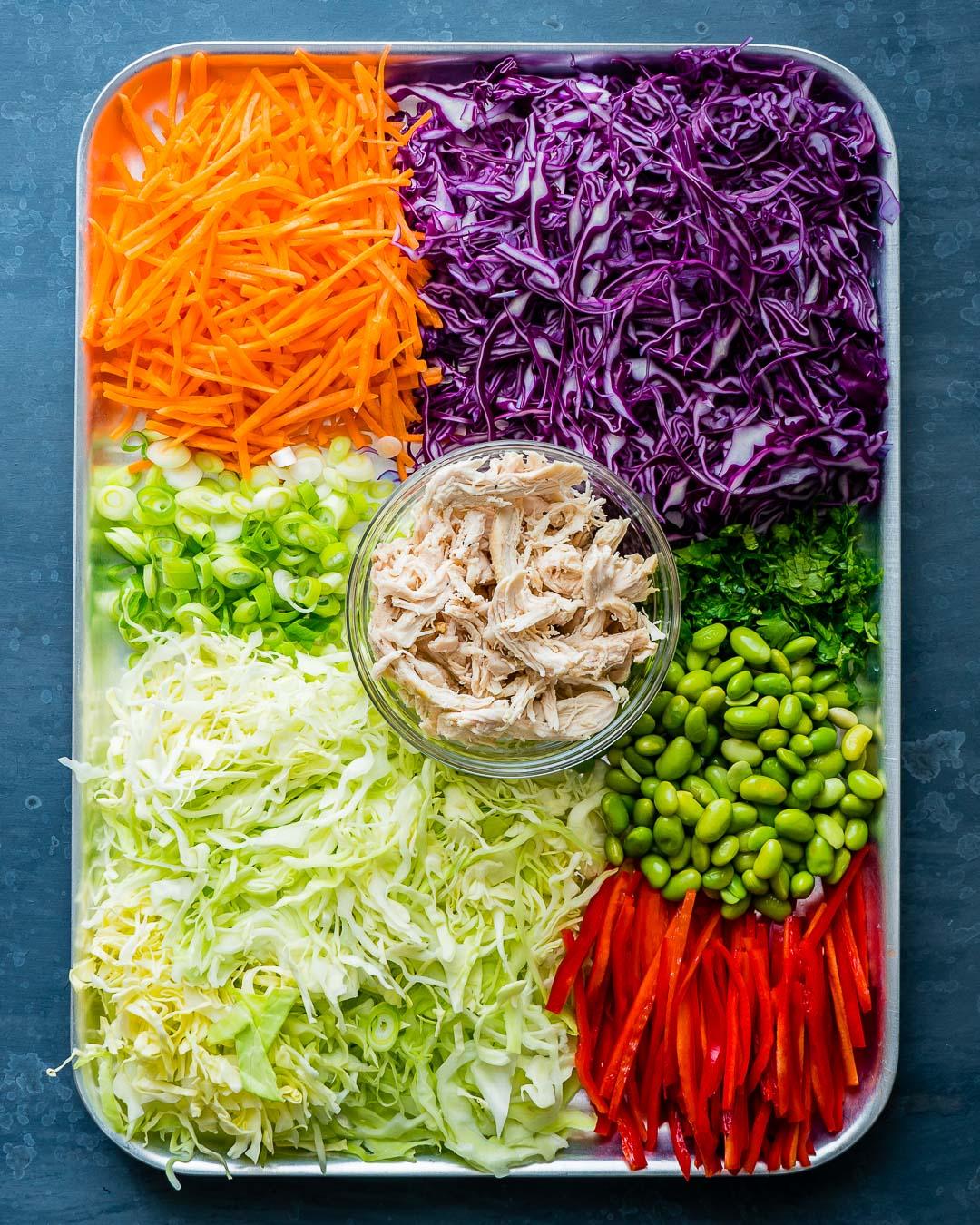 Salata Thailandeza de Pui si Legume 20
