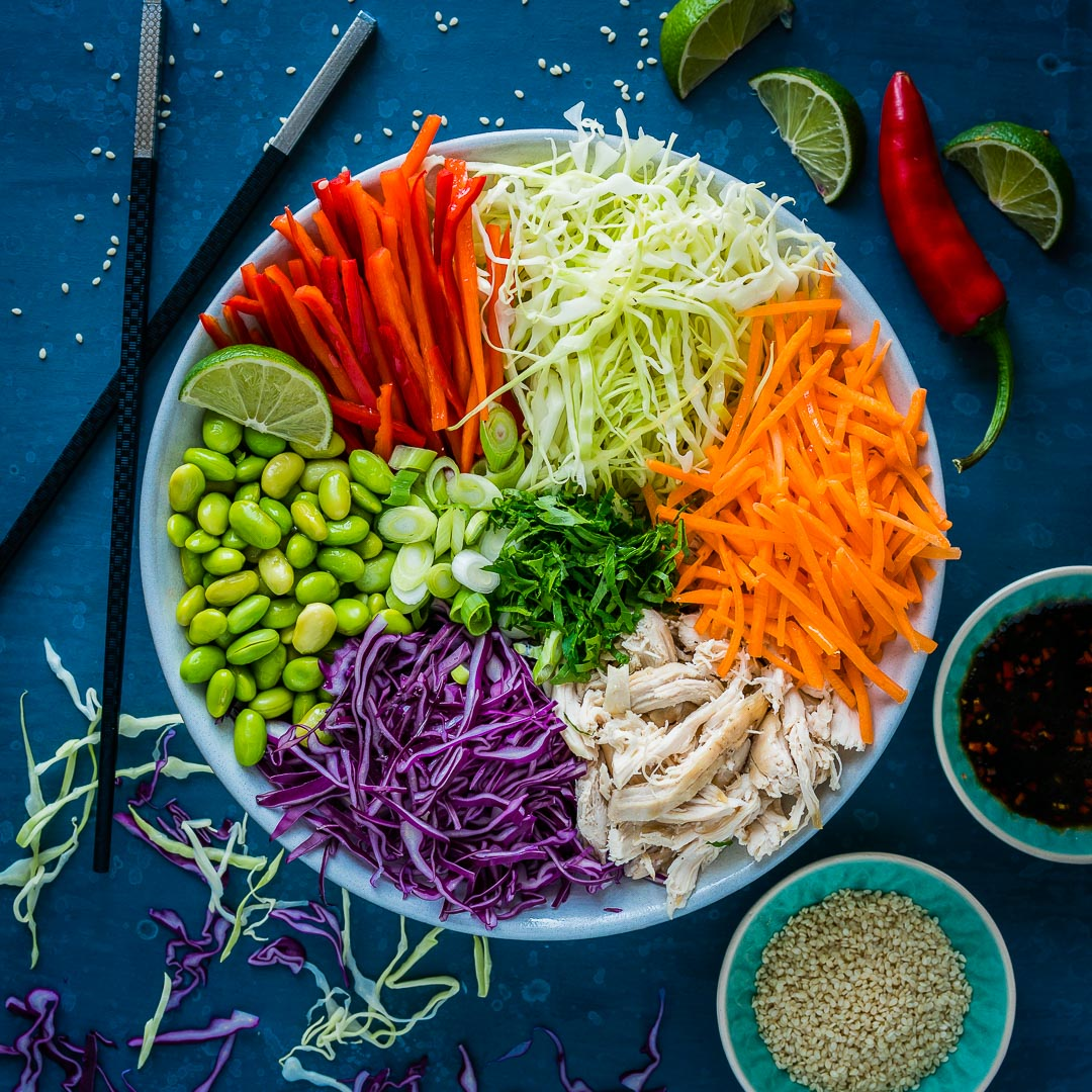 Salata Thailandeza de Pui si Legume 4