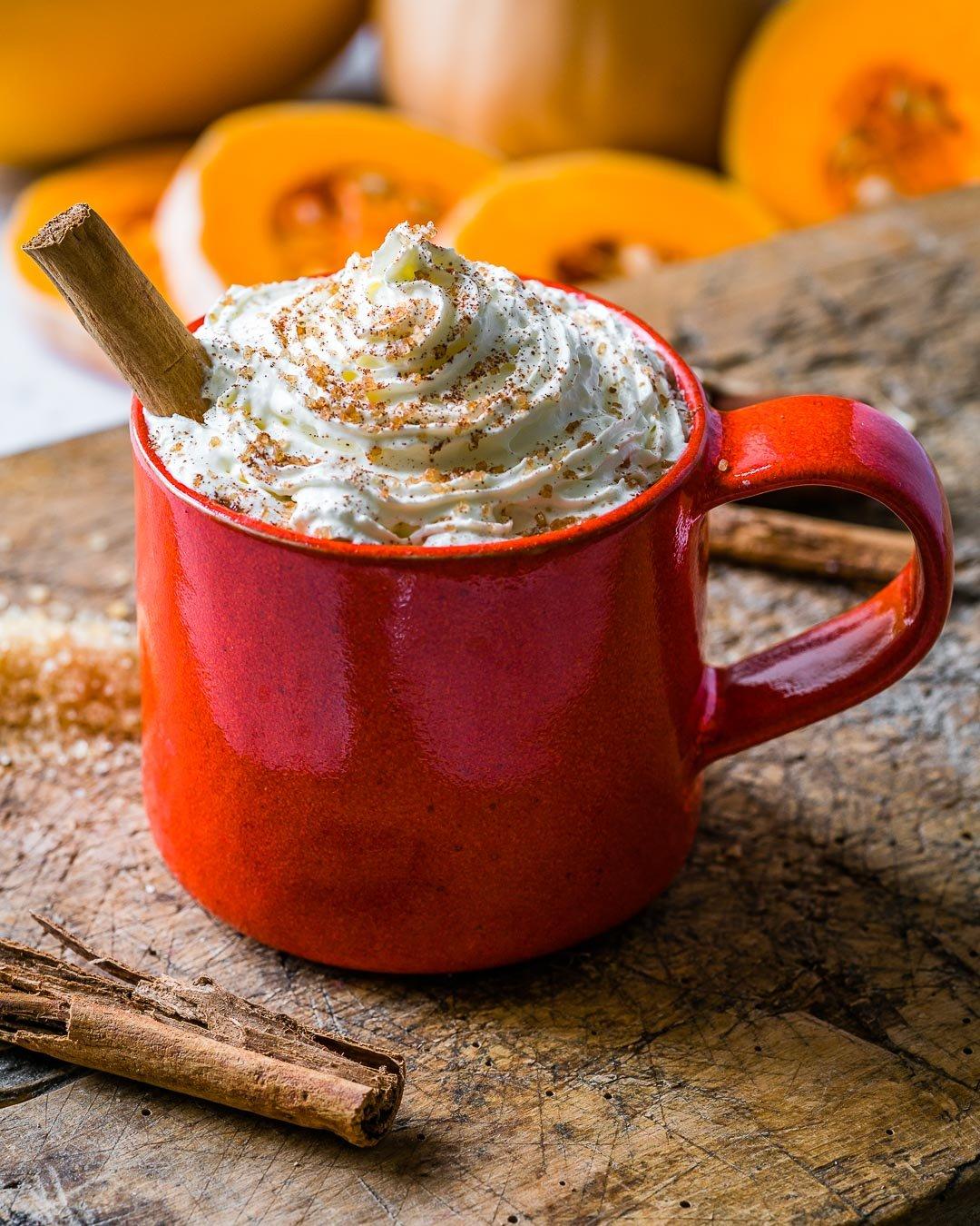 Latte Cu Dovleac si Condimente 2