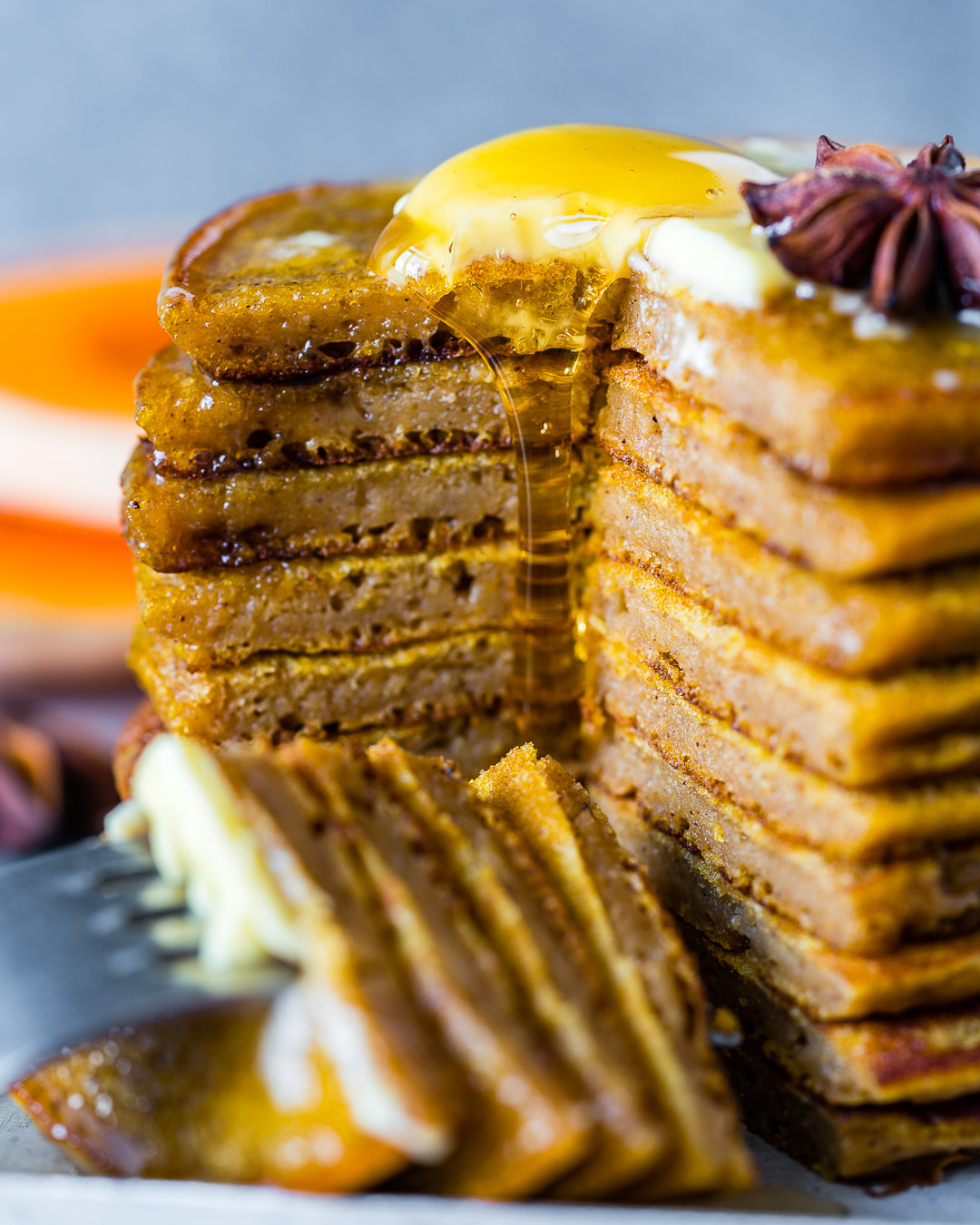 Healthy Pumpkin Spice Pancakes With Coffee Extract Recipe 7