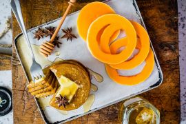 Healthy Pumpkin Spice Pancakes With Coffee Extract Recipe 8