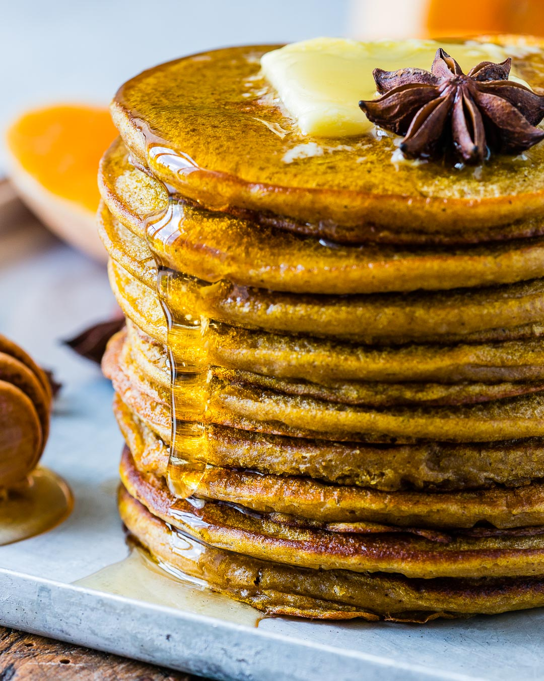 Healthy Pumpkin Spice Pancakes With Coffee Extract Recipe 3