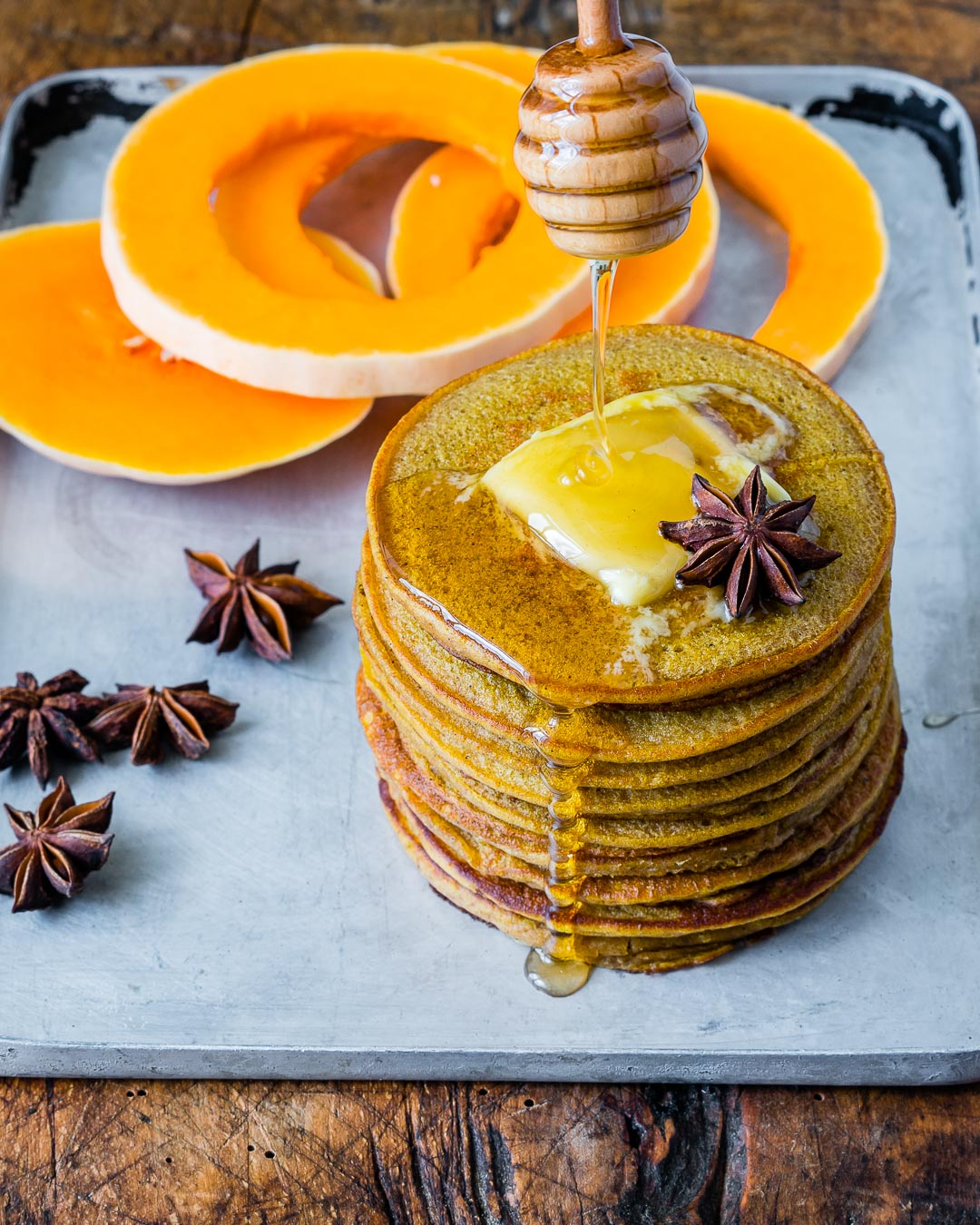 Healthy Pumpkin Spice Pancakes With Coffee Extract Recipe 2