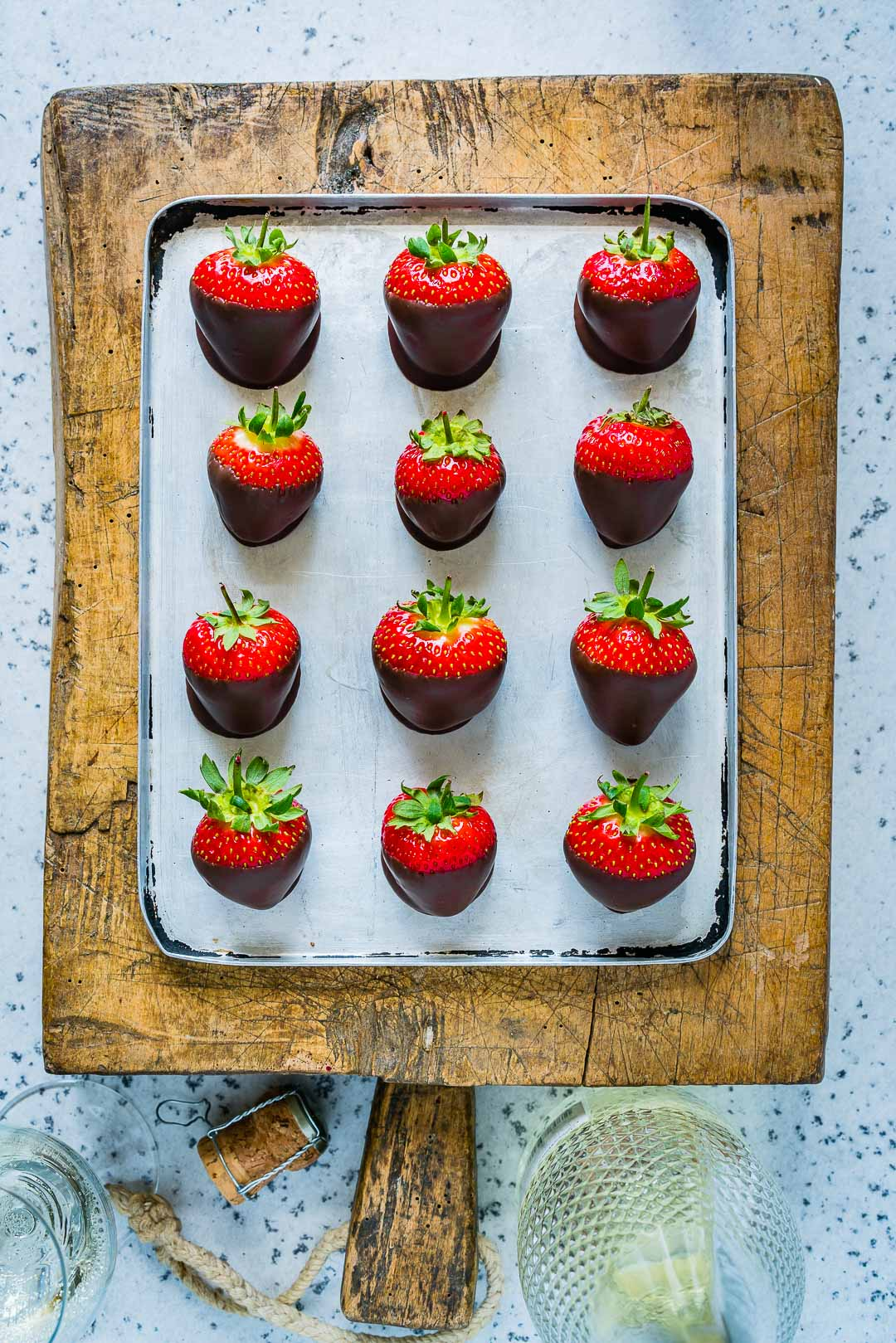 How To make Chocolate Covered Strawberries 4