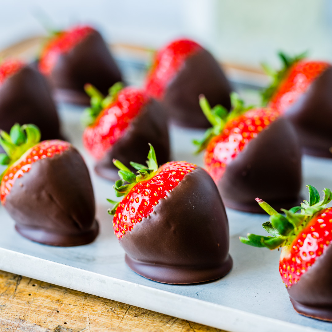 How To make Chocolate Covered Strawberries 6