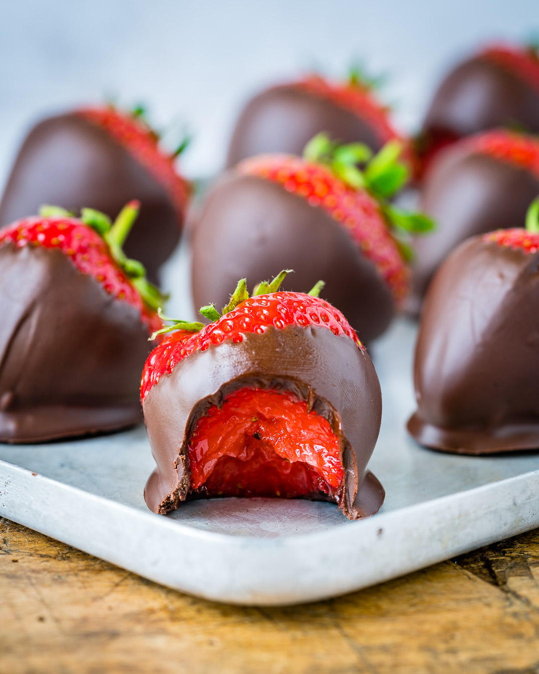 How To make Chocolate Covered Strawberries 8
