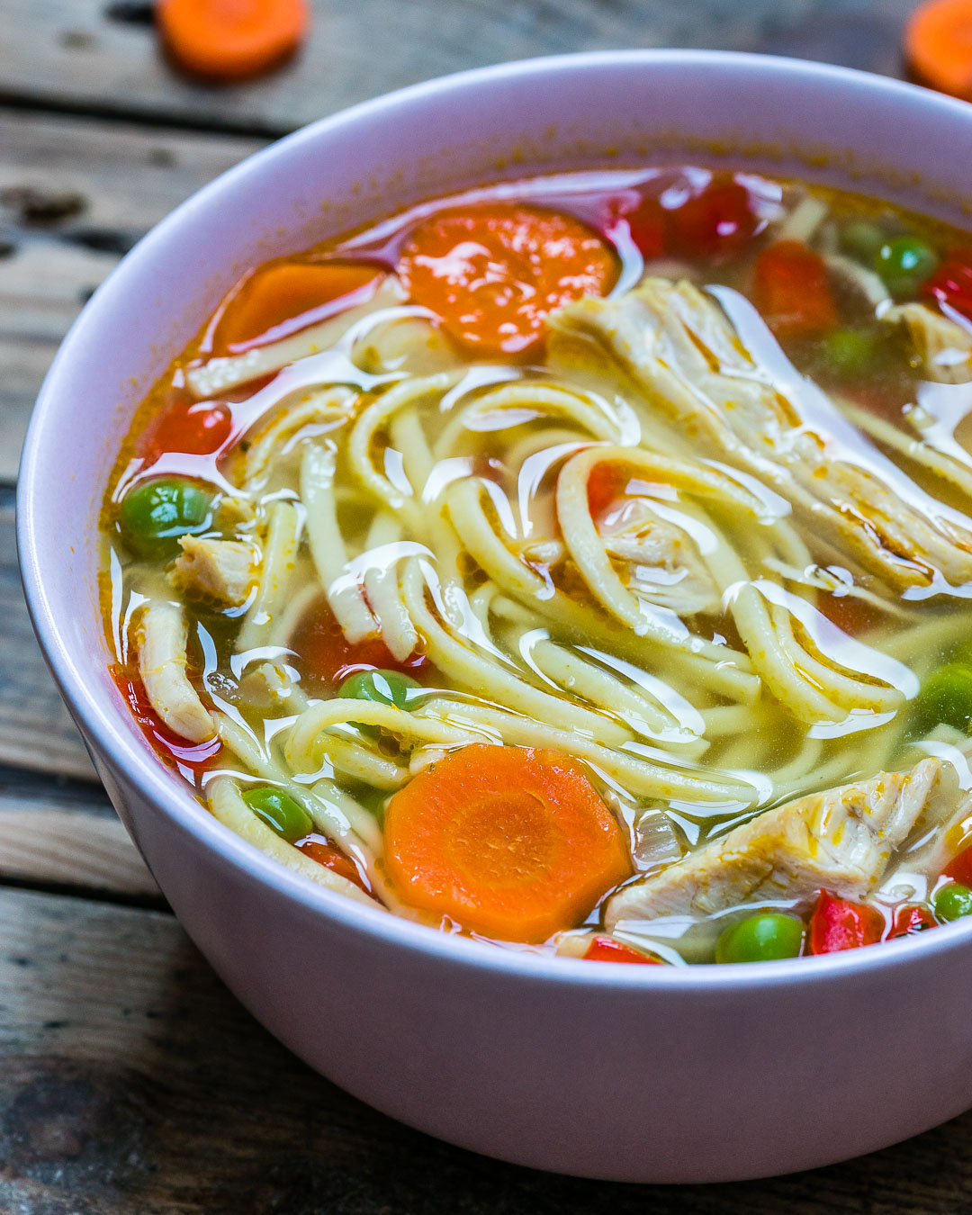 Easy Turkey Noodle Soup Recipe-16
