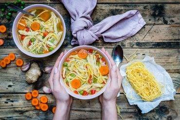 Easy Turkey Noodle Soup Recipe-5