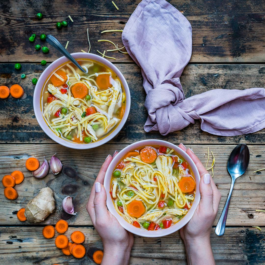 Easy Turkey Noodle Soup Recipe-8