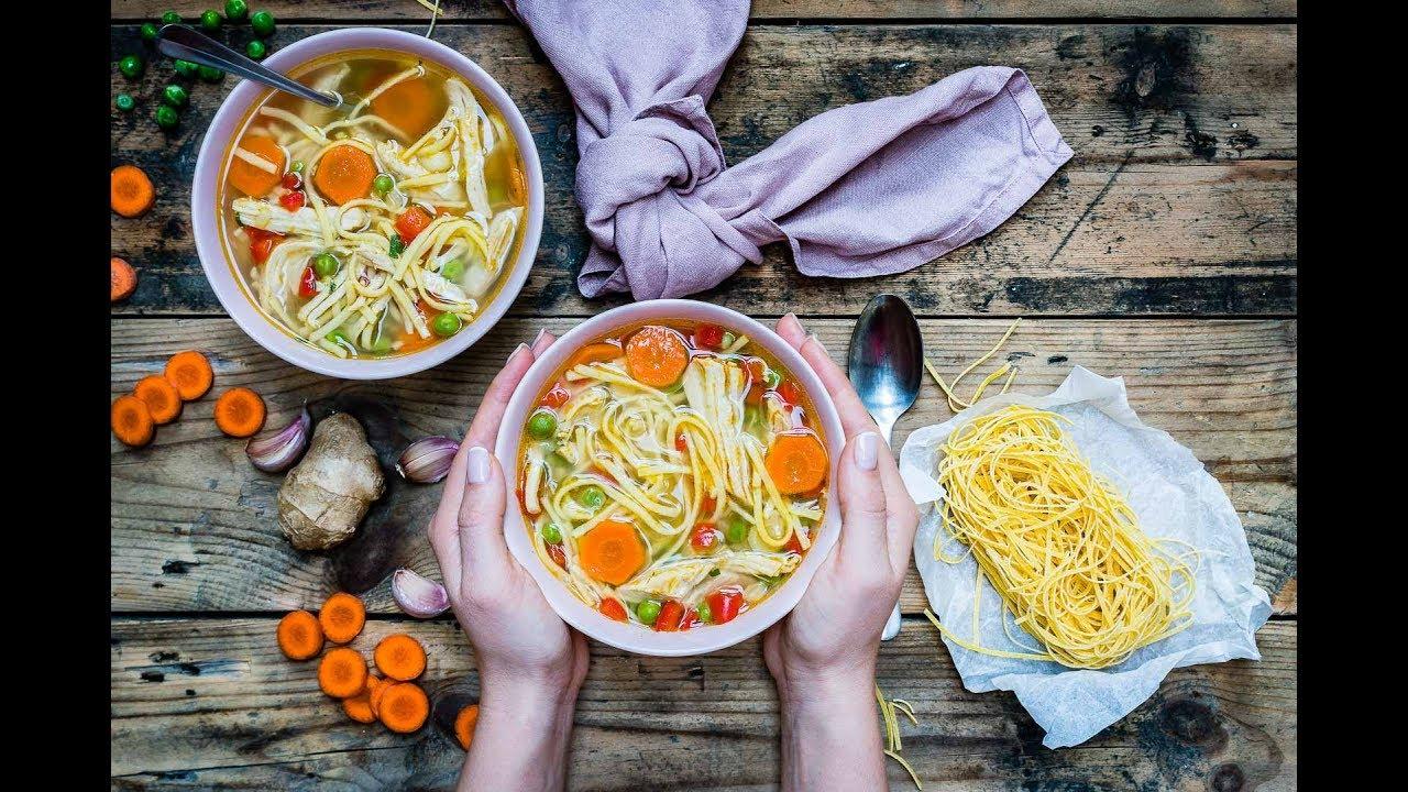 Leftover Turkey Noodle Soup Blondelish