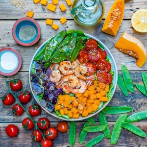 Easy and healthy shrimp salad recipe-3