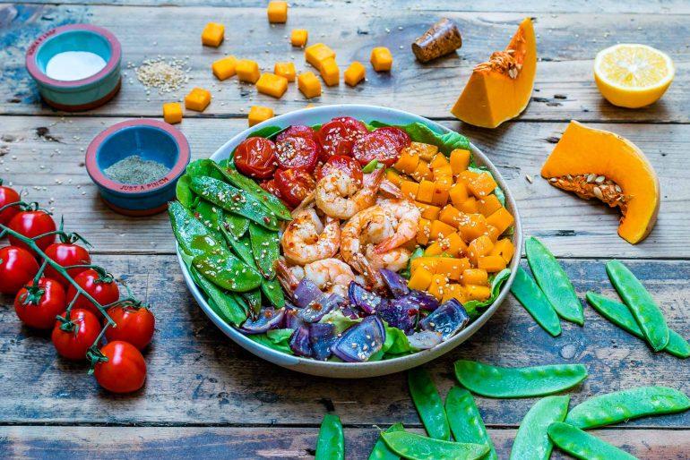 Easy and healthy shrimp salad recipe-4