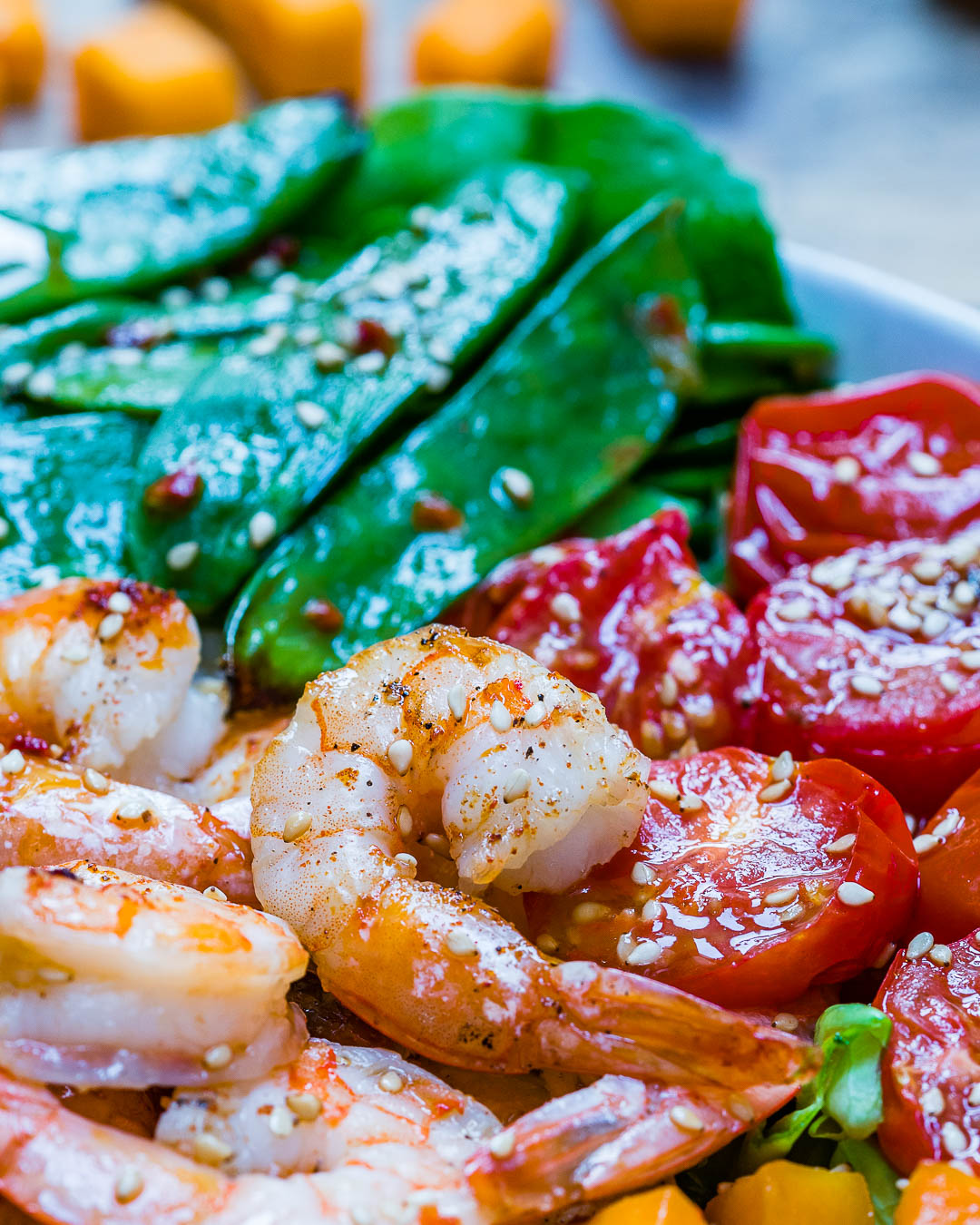 Easy and healthy shrimp salad recipe-7
