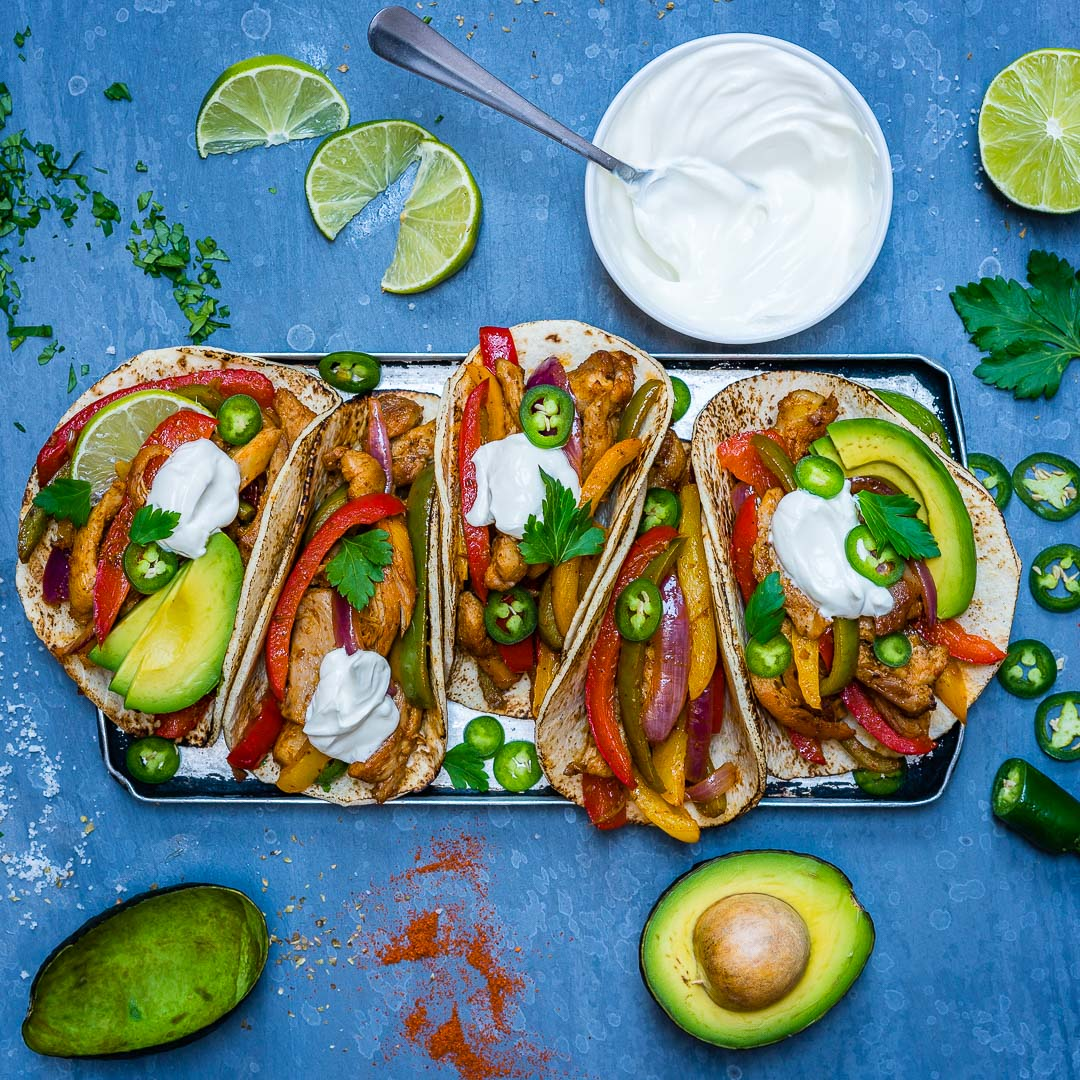 Easy Chicken Fajitas Recipe-13