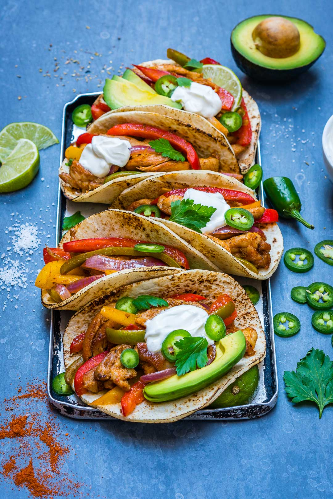 Easy Chicken Fajitas Recipe-6