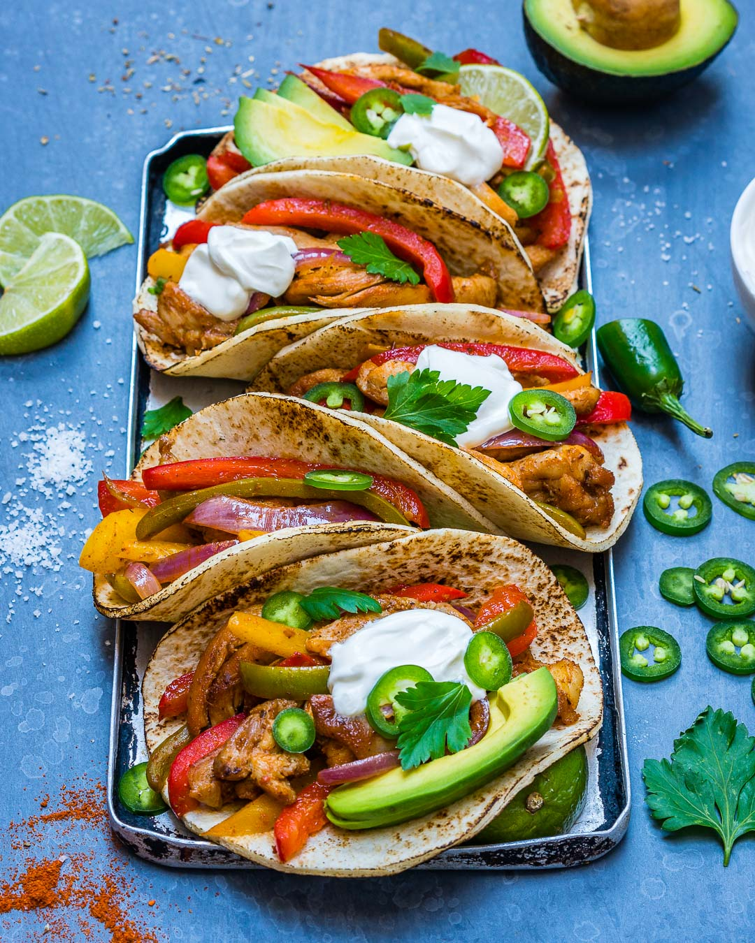 Easy Chicken Fajitas Recipe-7