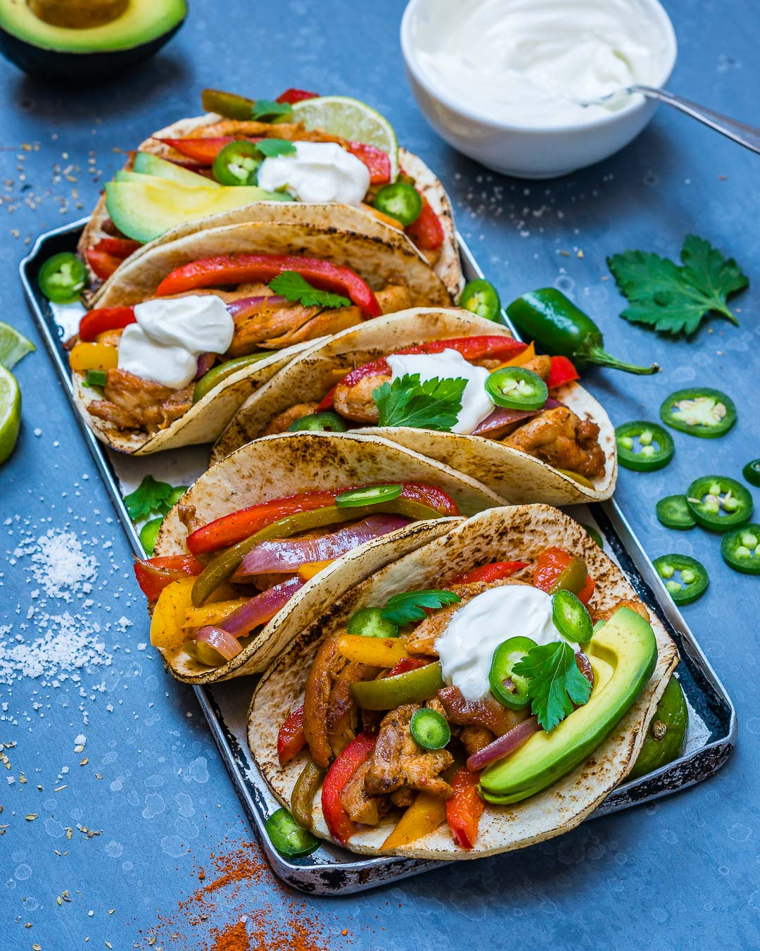 Easy Chicken Fajitas Recipe-8