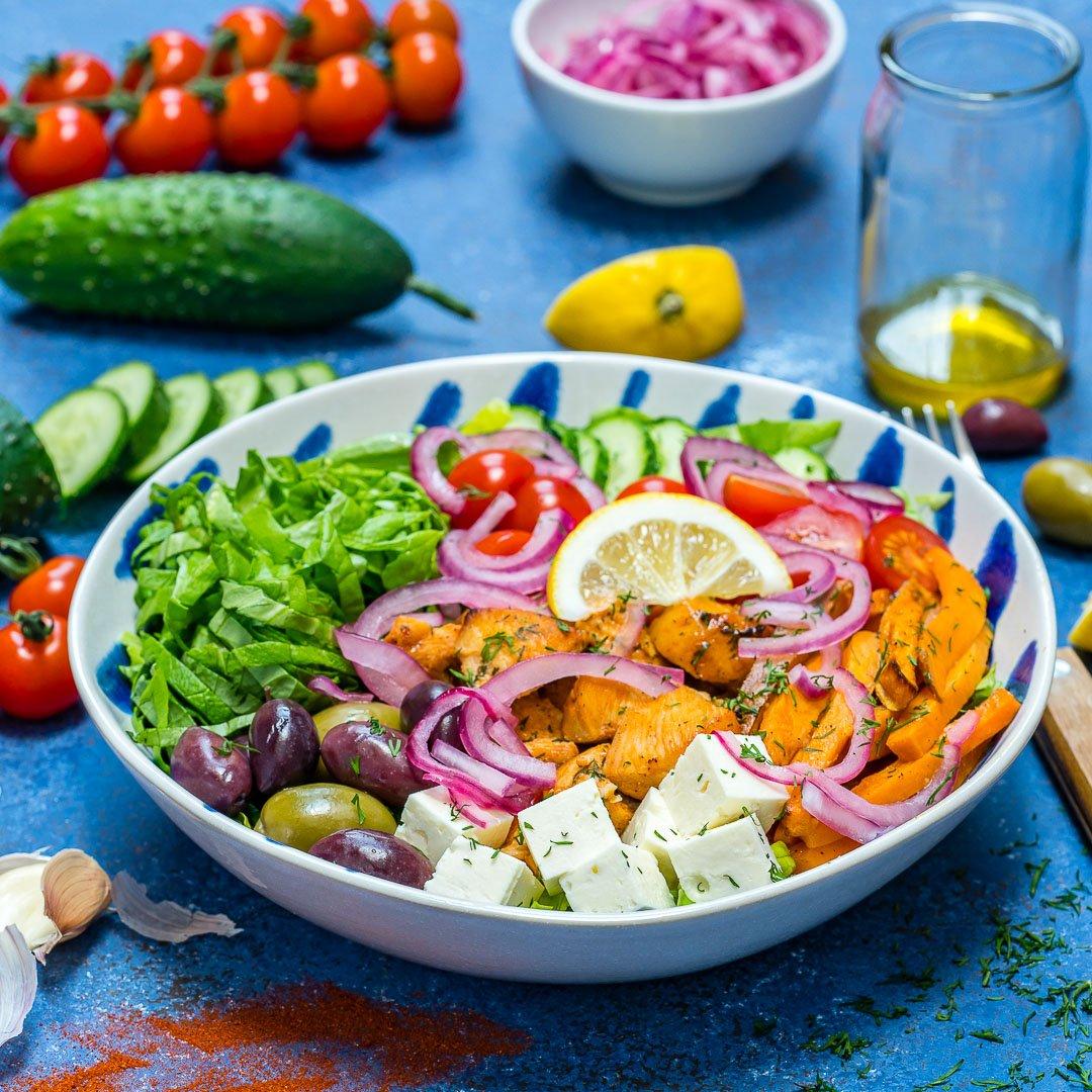 Salata Cu Piept De Pui Si Legume 2
