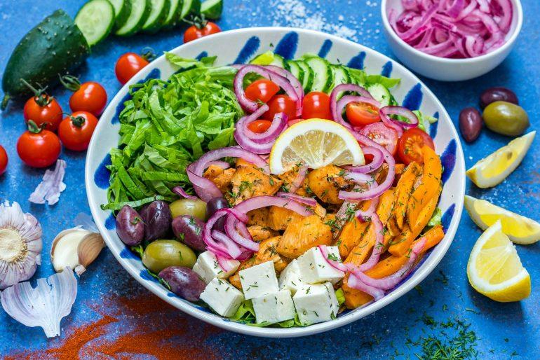 Healthy Greek Chicken Bowls - Best Meal Prep Idea