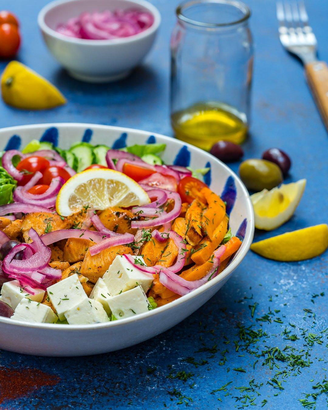 Salata Cu Piept De Pui Si Legume 3