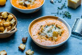 Creamy Roasted Tomato Soup - Recipe Video-3