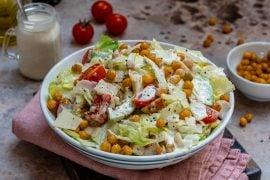Healthy Chicken Caesar Salad Recipe-9