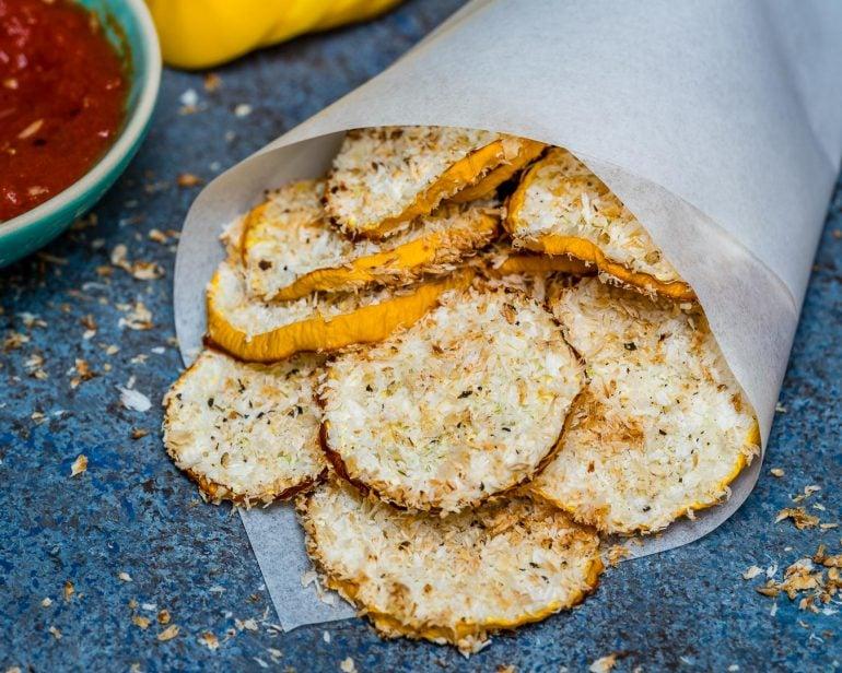 Baked Zucchini Chips Recipe