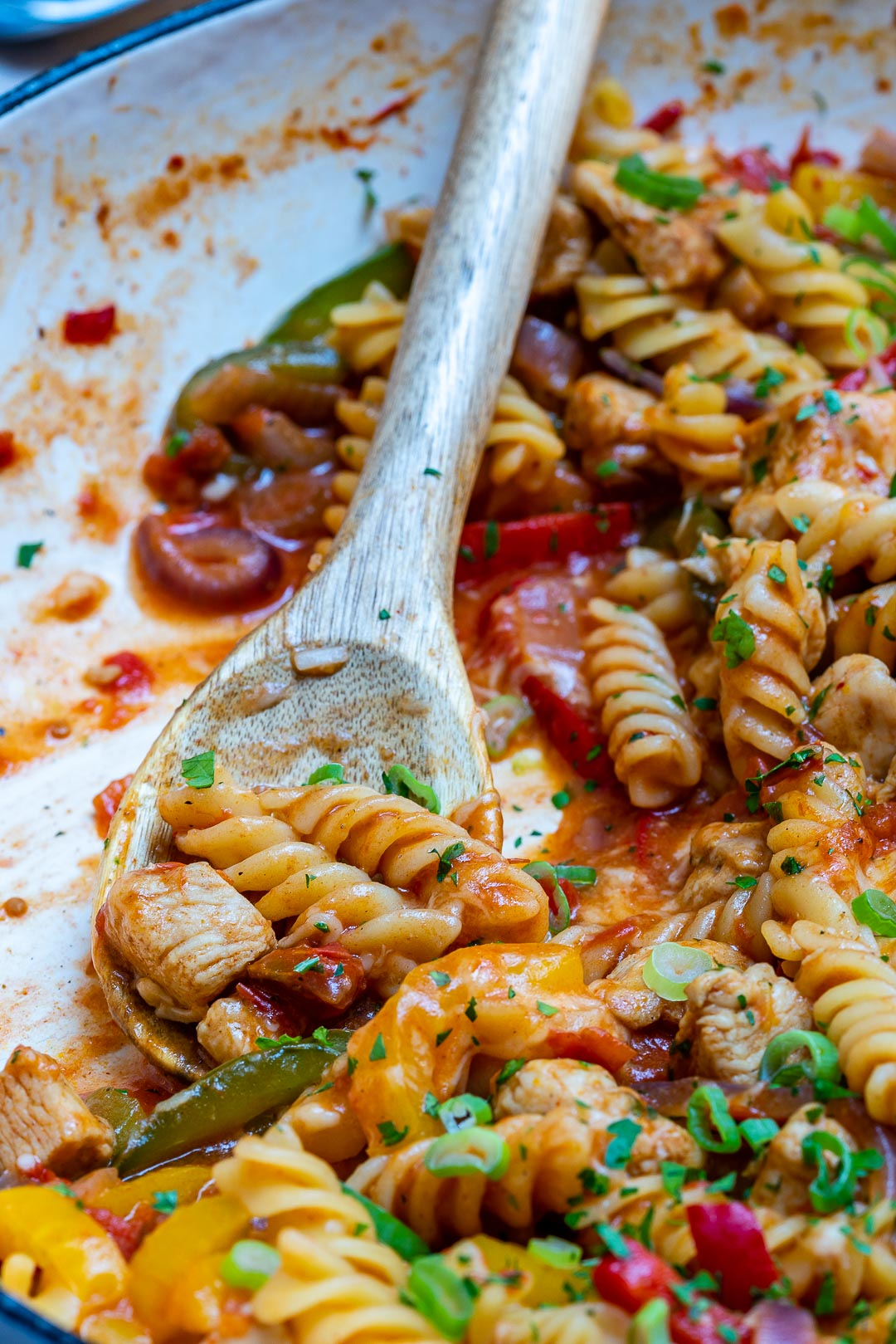 One-Pot Chicken Fajita Pasta-2