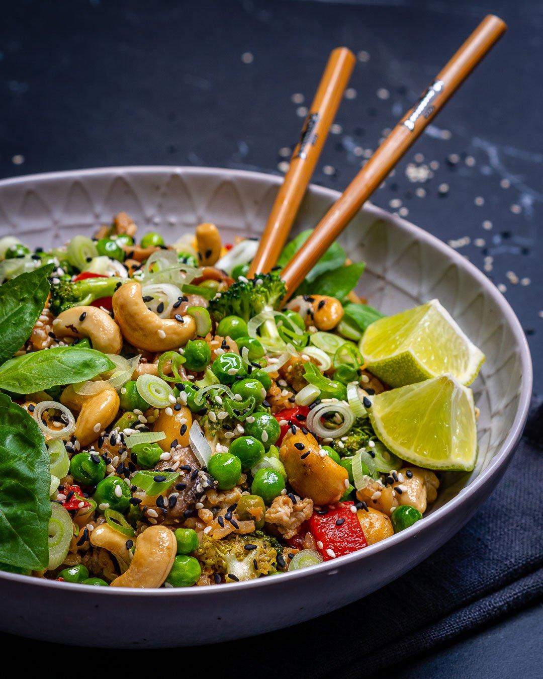 Easy Vegetable Fried Rice Recipe-16