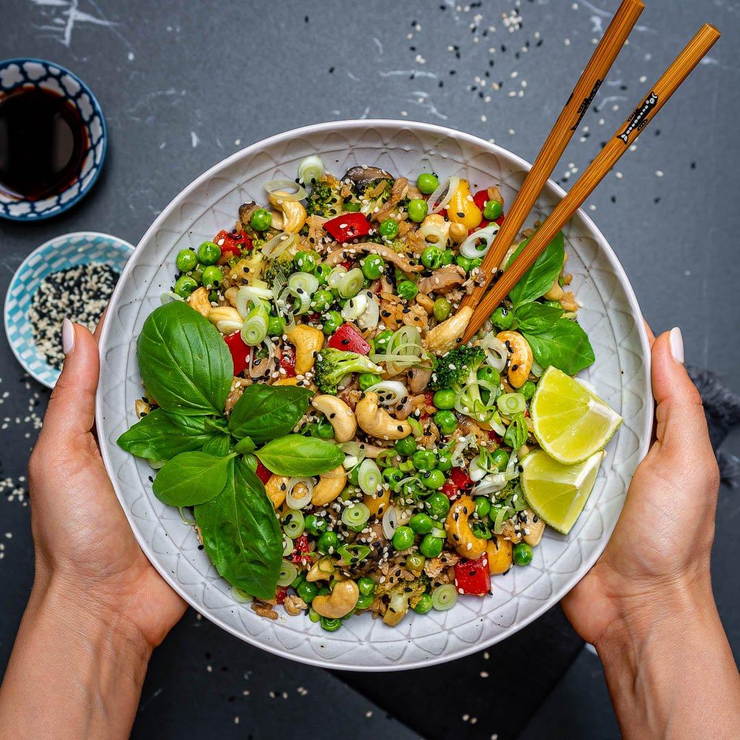 Easy Vegetable Fried Rice Recipe-2