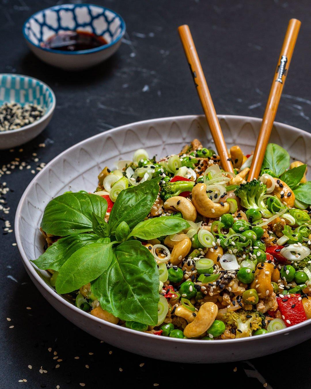 Easy Vegetable Fried Rice Recipe-4
