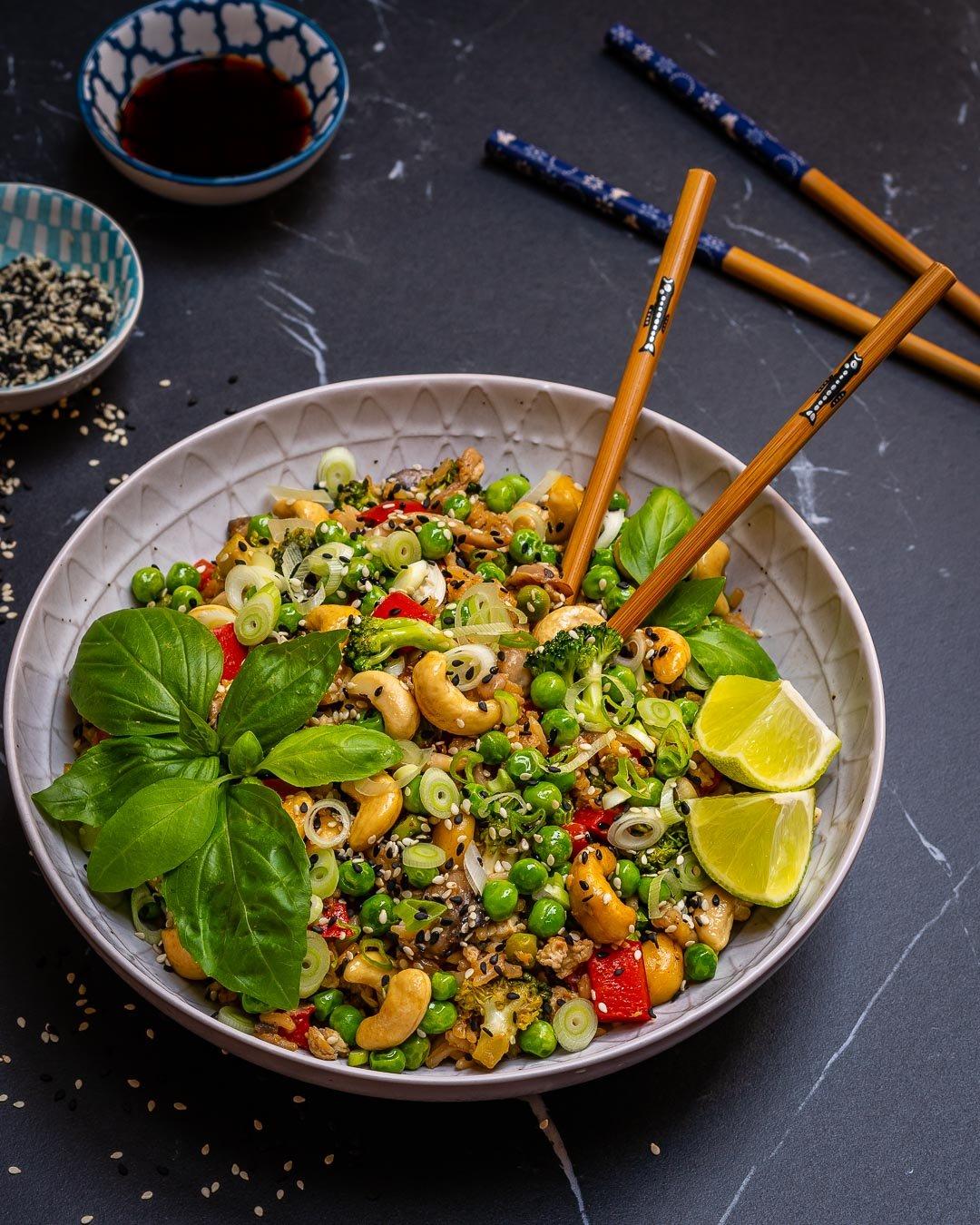 Easy Vegetable Fried Rice Recipe-6