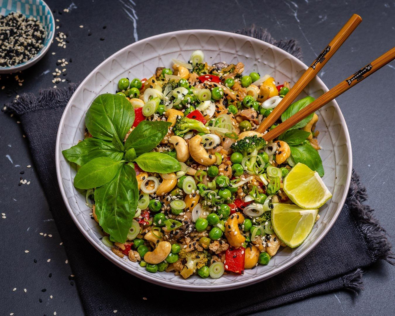 Easy Vegetable Fried Rice Recipe-8