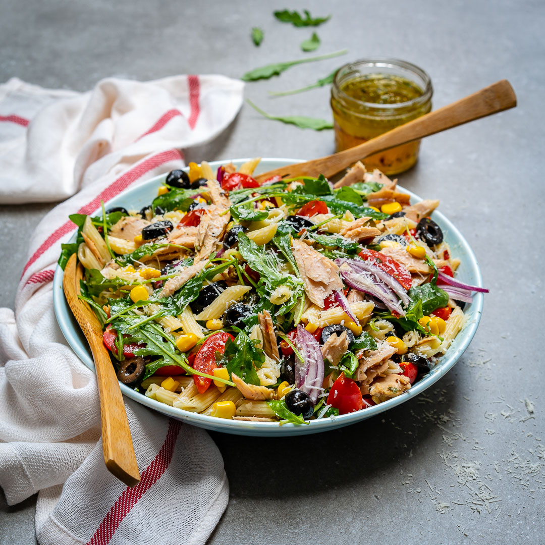 Healthy Tuna Pasta Salad Recipe-17