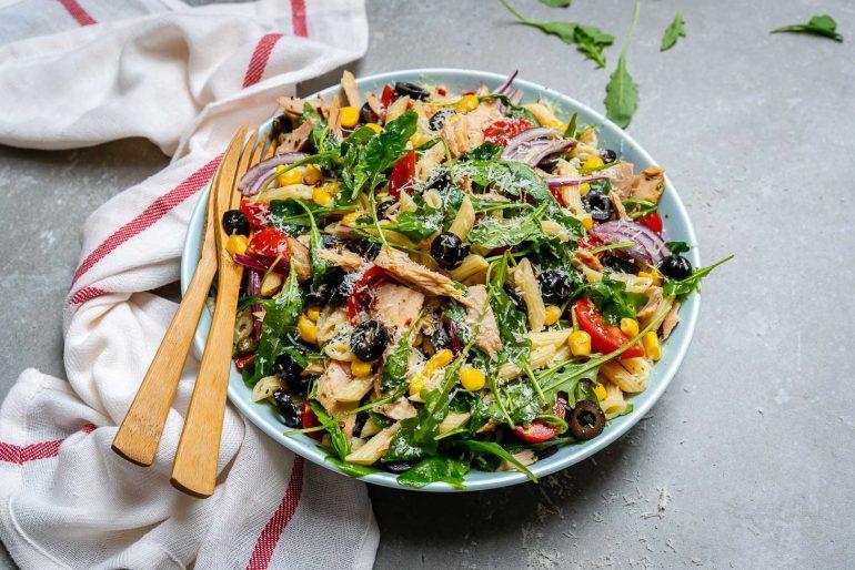 Healthy Tuna Pasta Salad Recipe-5