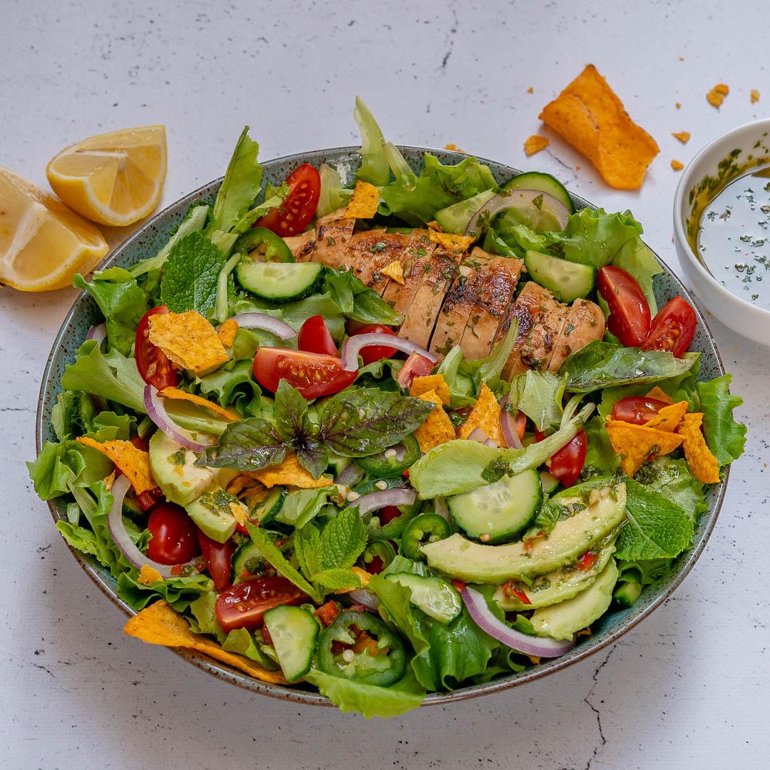 Chimichurri Chicken Avocado Salad Recipe-3