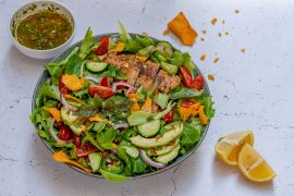 Chimichurri Chicken Avocado Salad Recipe-4