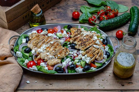 Healthy Grilled Chicken Salad Recipe-12