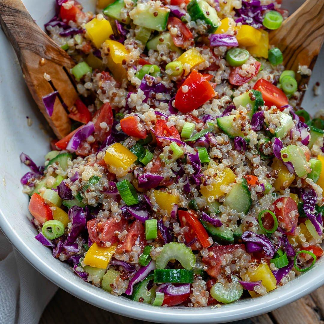 Salata De Quinoa Si Legume - Reteta Video 8