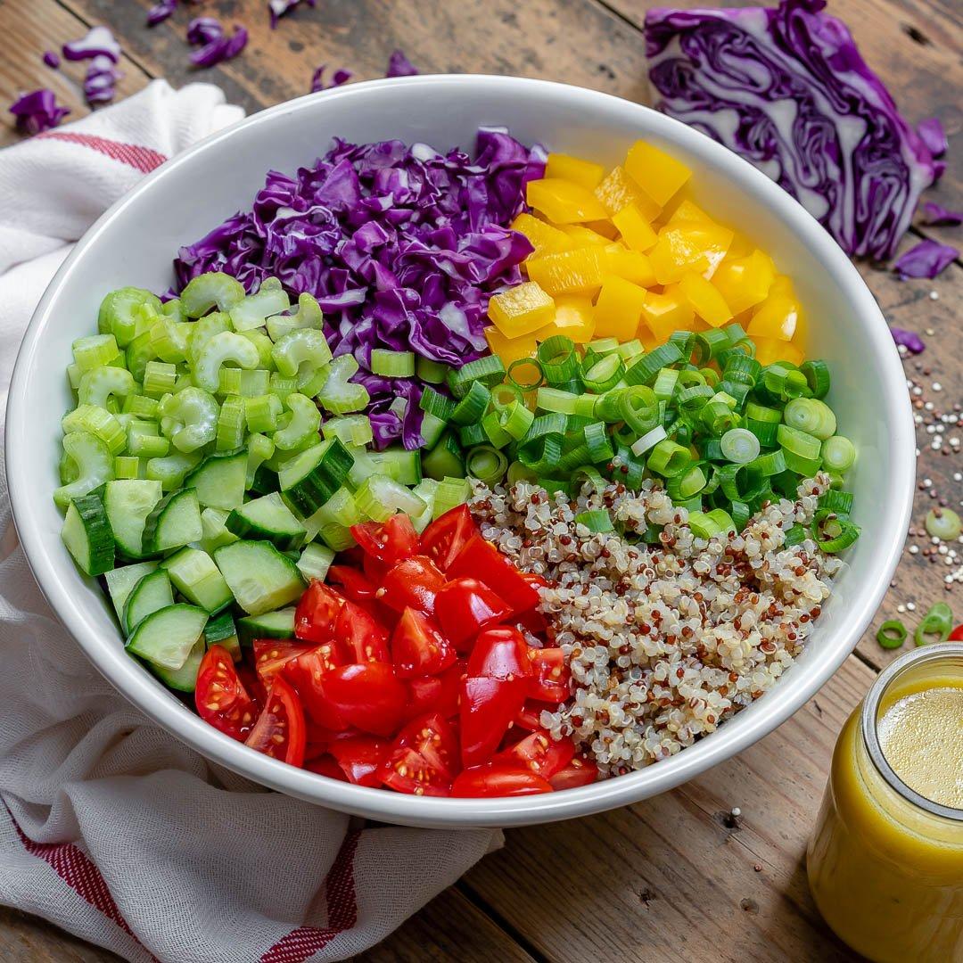 Salata De Quinoa Si Legume - Reteta Video 1