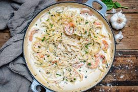 Creamy Shrimp Alfredo Pasta Recipe-5