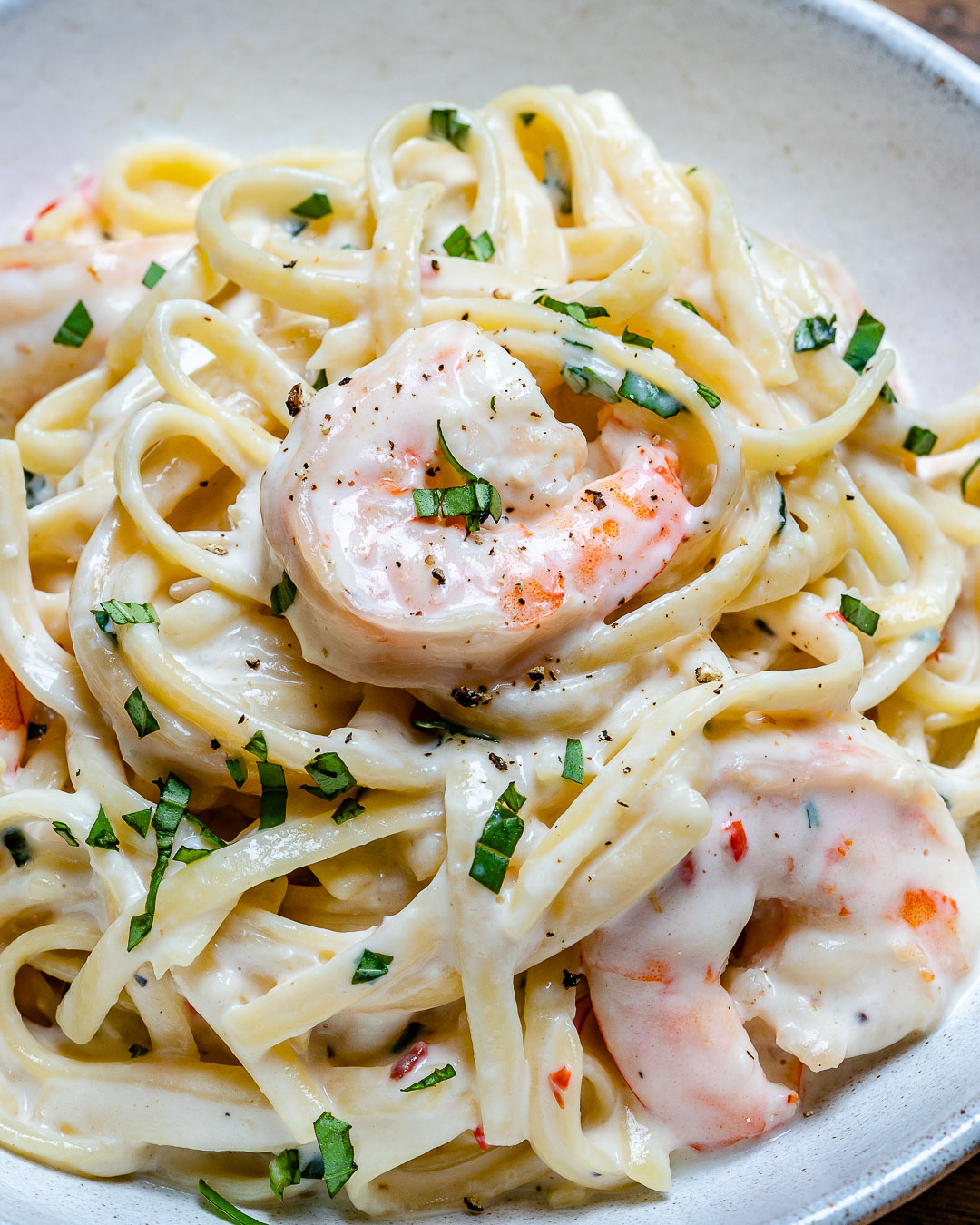 Creamy Shrimp Alfredo Pasta Recipe-9