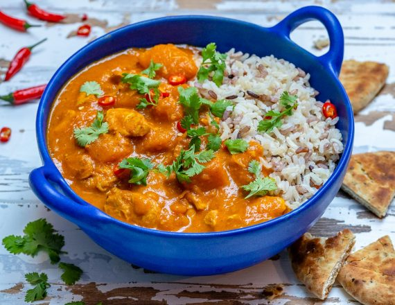 Instant Pot Pumpkin Chicken Curry With Coconut Milk-11